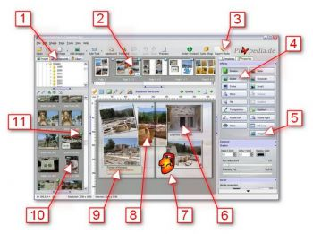 Photo book software solution for commercial printers