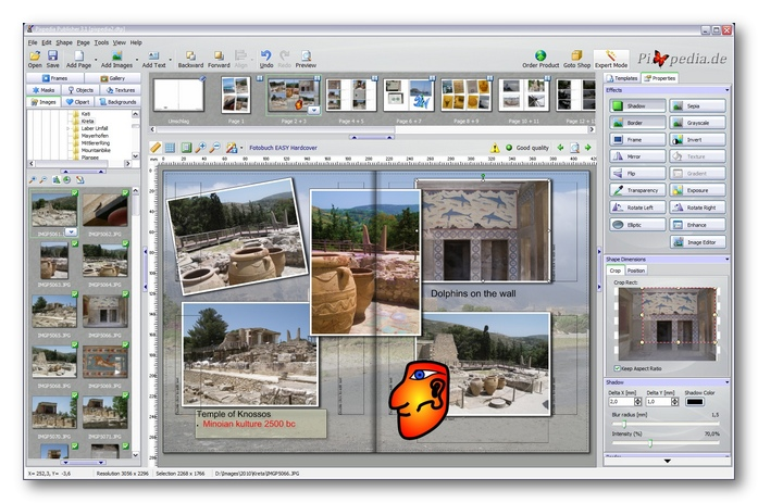 photobook software usp